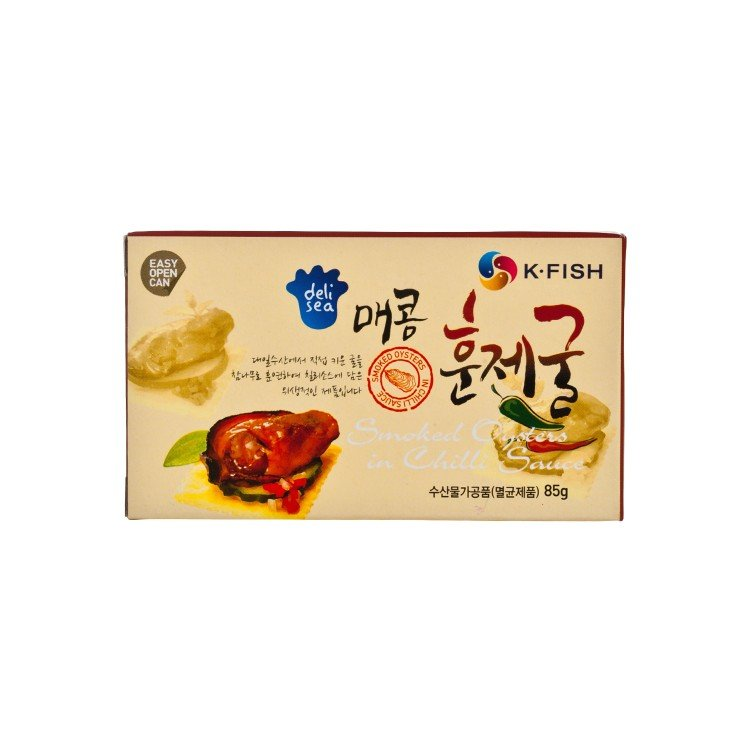 DELISEA - SMOKED OYSTERS IN CHILLI SAUCE - 85G