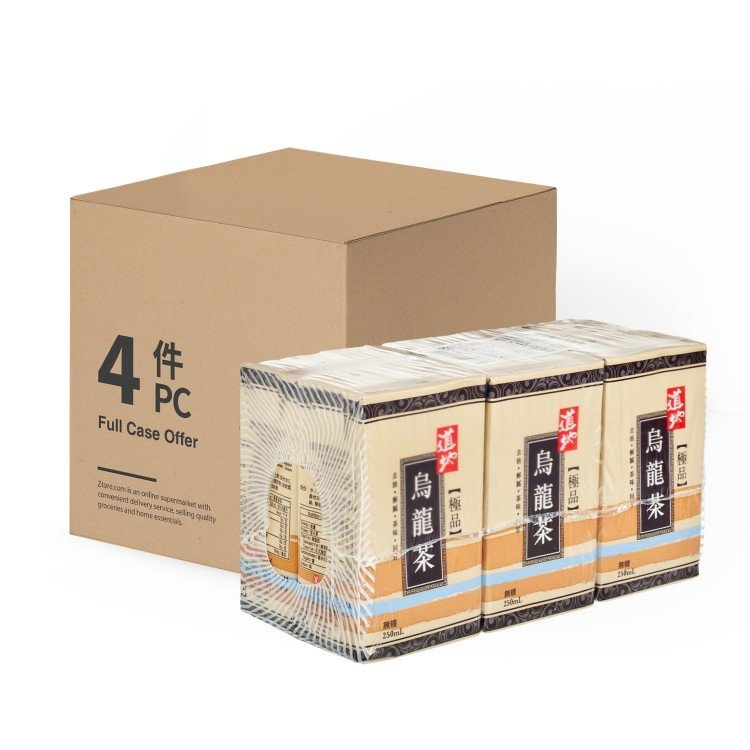 TAO TI - SUPREME OOLONG TEA - 250MLX6X4