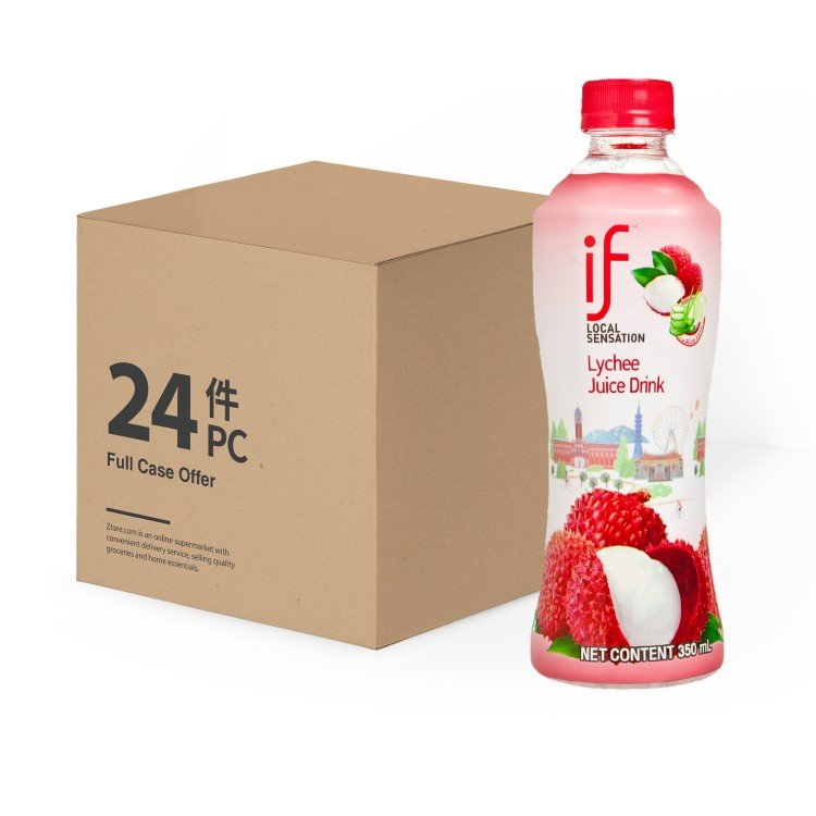 iF - LYCHEE JUICE DRINK WITH ALOE VERA -CASE - 350MLX24