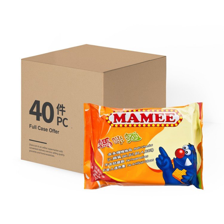 MAMEE - SNACK NOODLES-CASE OFFER - 60GX40