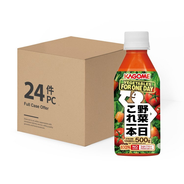 KAGOME - MIXED VEGETABLE JUICE -CASE - 255MLX24