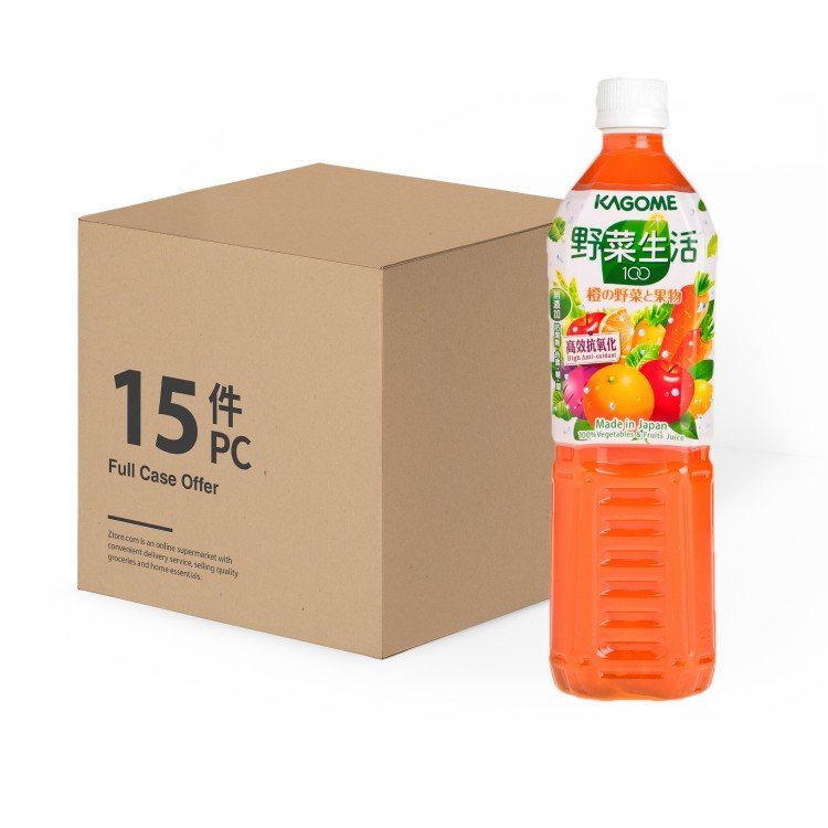 KAGOME - CARROT MIXED JUICE -CASE - 720MLX15