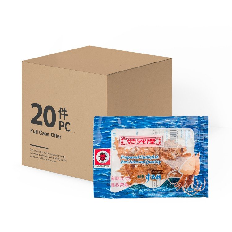 SZE HING LOONG - LADYBIRD DRIED SEASONED CUTTLEFISH-CASE - 21GX20