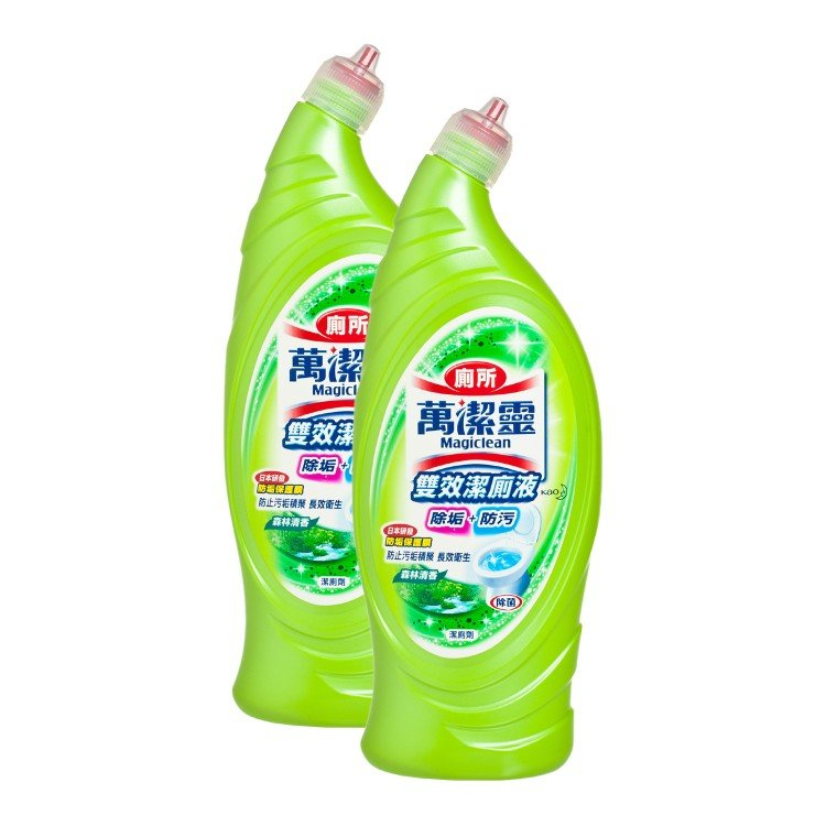 KAO MAGICLEAN - TOILET CLEANER SET-FOREST - 650MLX2