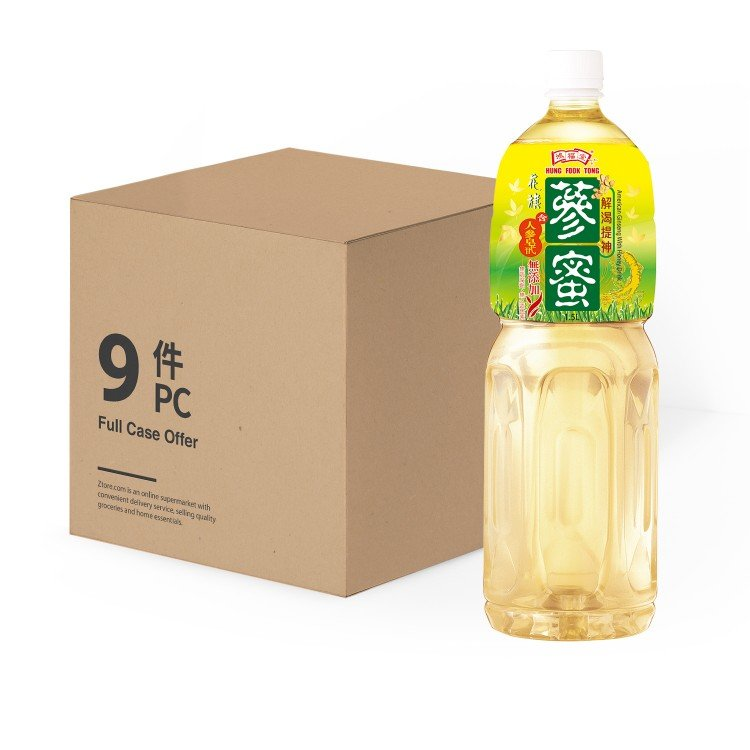 HUNG FOOK TONG - AMERICAN GINSENG WITH HONEY DRINK - 1.5LX9