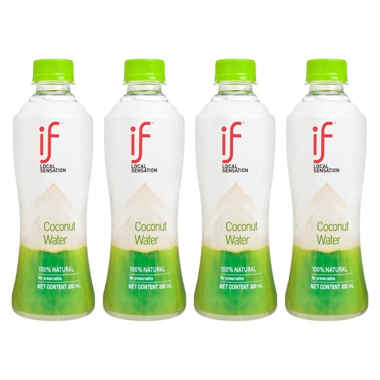 iF - 100% COCONUT WATER - 350MLX4