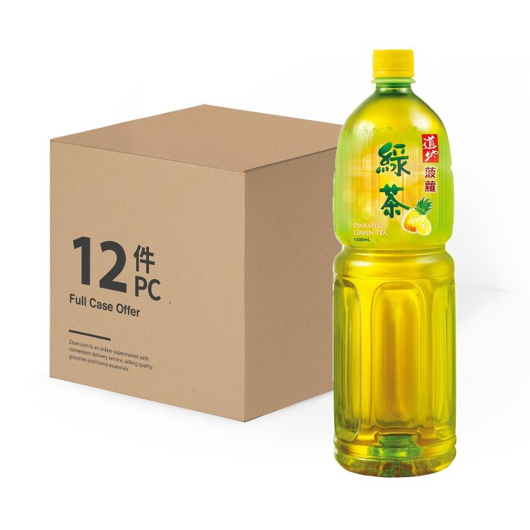 TAO TI - PINEAPPLE GREEN TEA-CASE OFFER - 1.5LX12