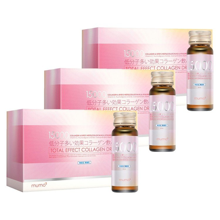 MUMO - 15,000MG TOTAL EFFECT COLLAGEN DRINK - 30MLX10X3