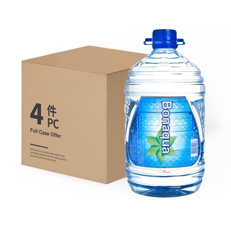 BONAQUA - MINERALIZED WATER - 5LX4
