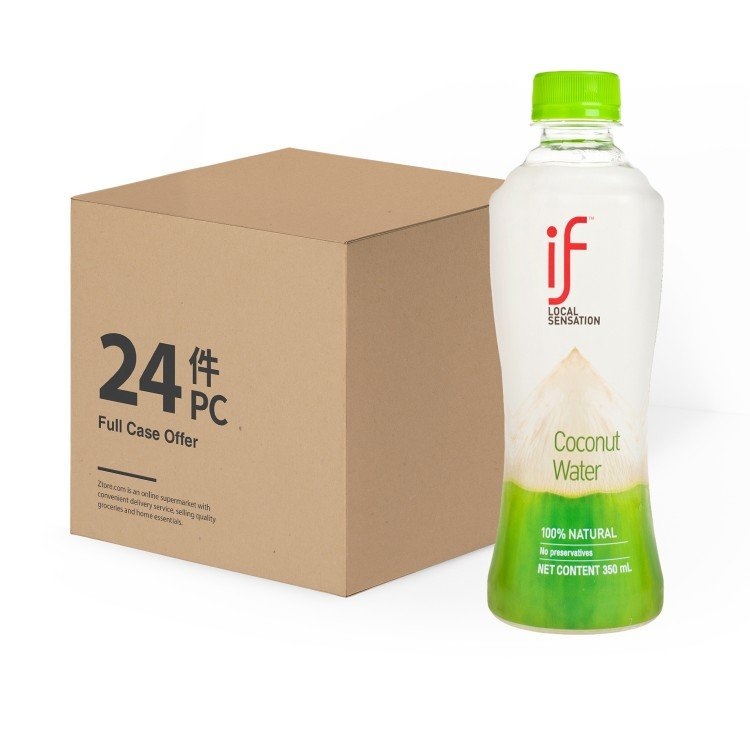 iF - 100% COCONUT WATER - 350MLX24
