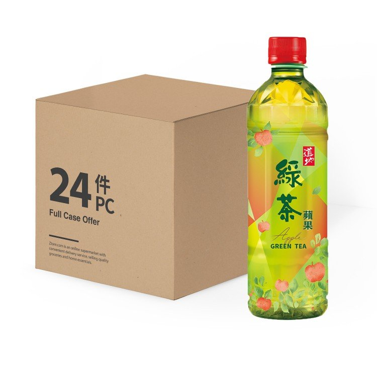 TAO TI - APPLE GREEN TEA - 500MLX24