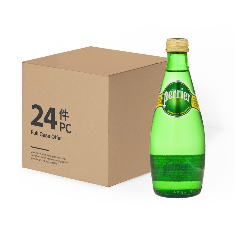 PERRIER(PARALLEL IMPORT) - SPARKLING MINERAL WATER TWIST - 330MLX24
