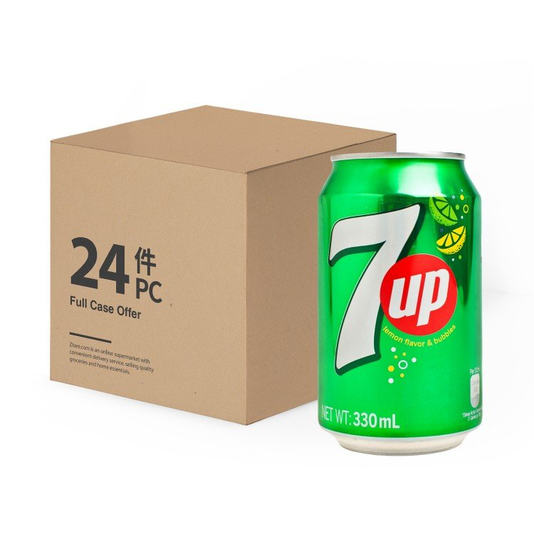 7 UP - SOFT DRINK - 330MLX24
