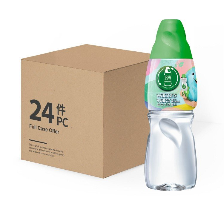 WATSONS - DISTILLED WATER - 430MLX24