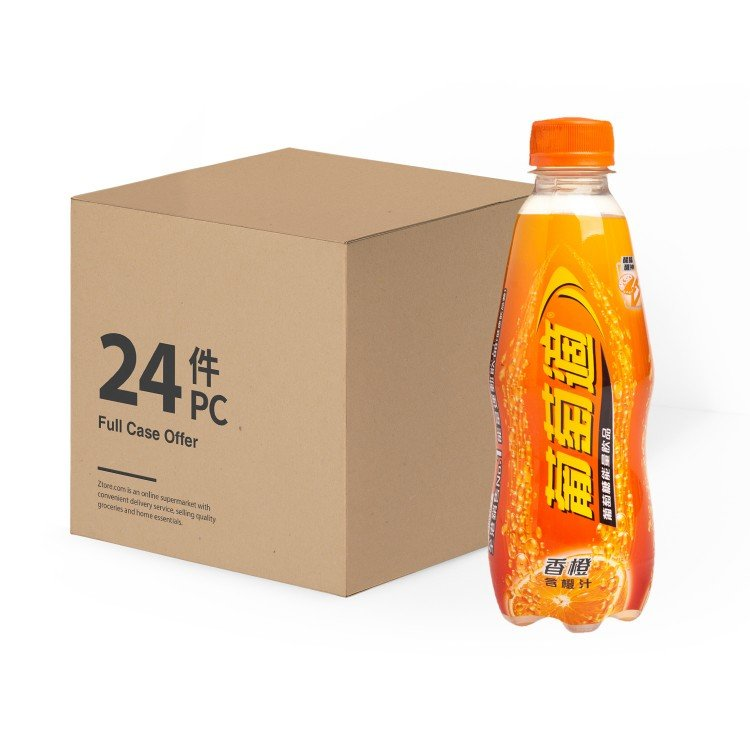 LUCOZADE - ENERGY ORANGE - 300MLX24