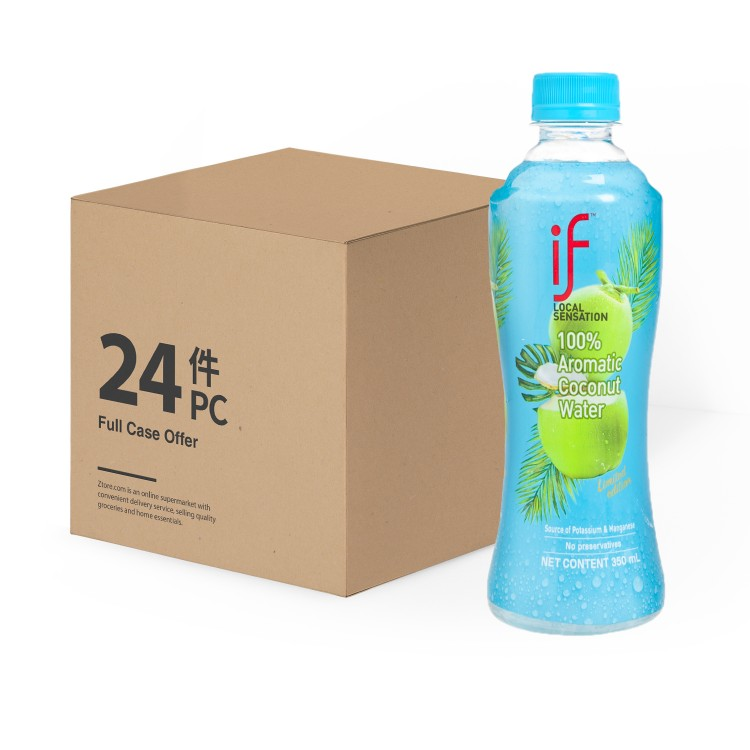 iF - AROMATIC COCONUT WATER-CASE OFFER - 350MLX24