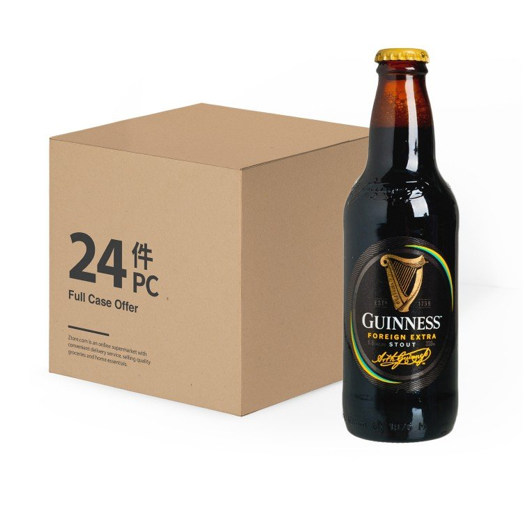GUINNESS(PARALLEL IMPORT) - FES BEER BOTTLE - 330MLX24
