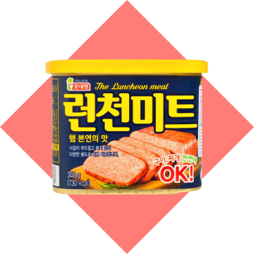 LOTTE - Luncheon Meat - 340G